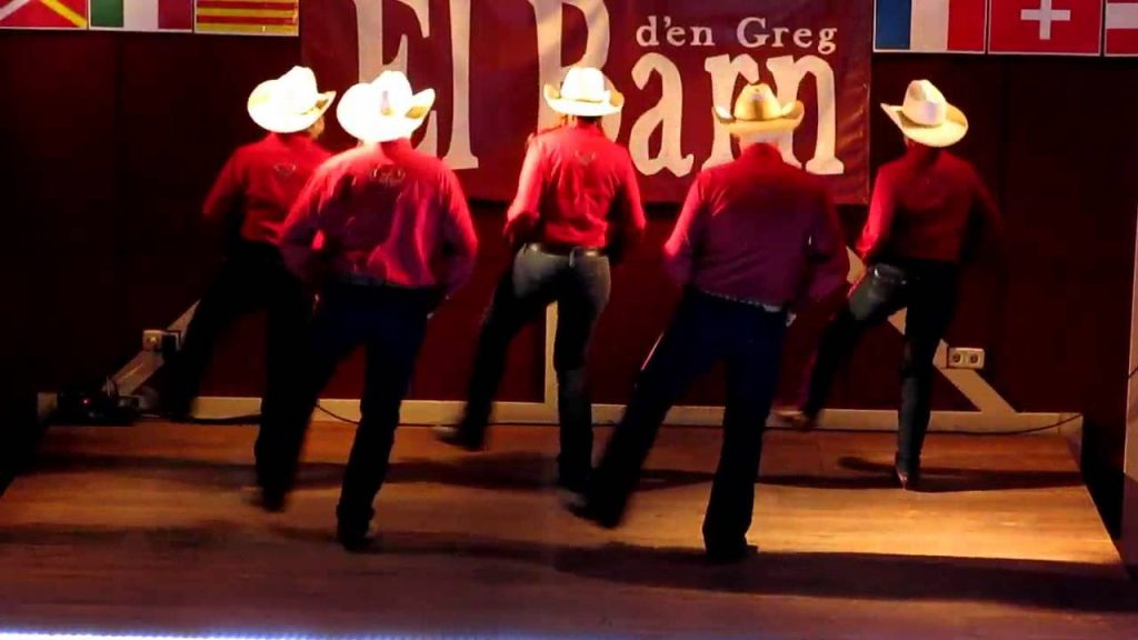 Pasos básicos en Country Linedance