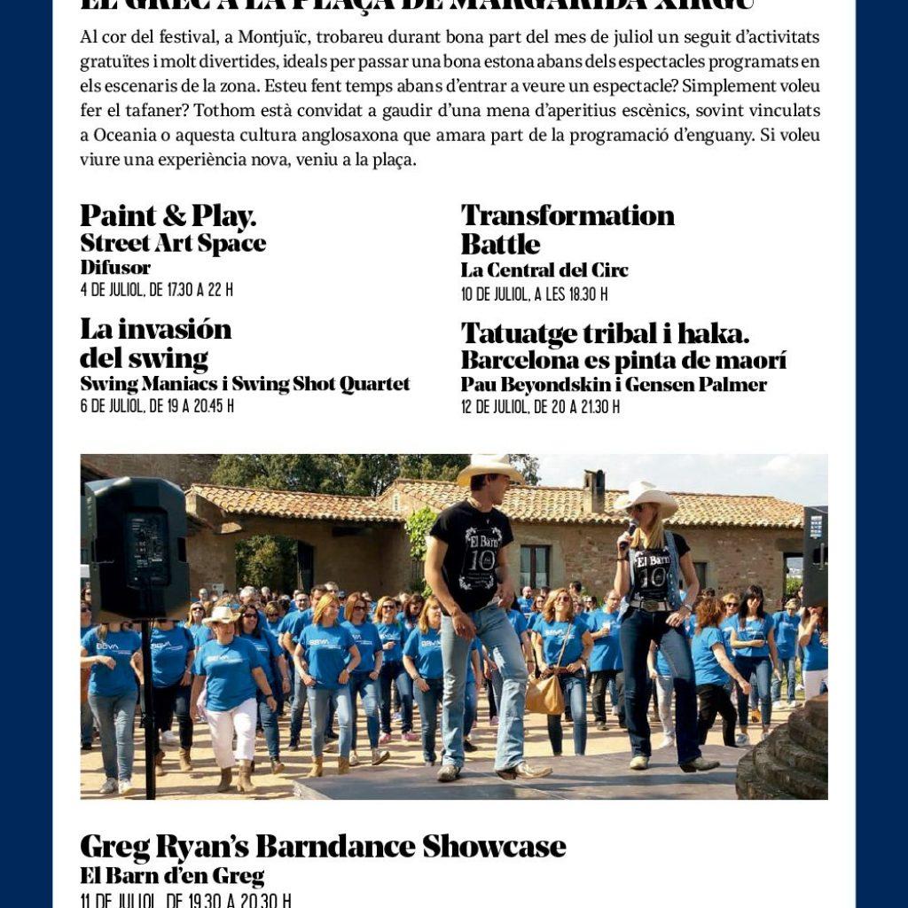 El Barn al Festival Grec